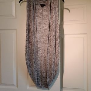 Twenty one vest with scoop style back
